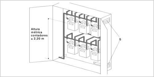 instalacion-armario-contadores-gas-en-bateria Revisión instalación gas