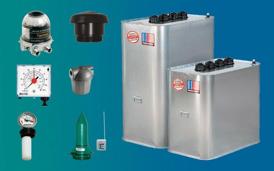 Sustitución de depósitos de gasoil para calefacción. Cambiar viejo depósito.